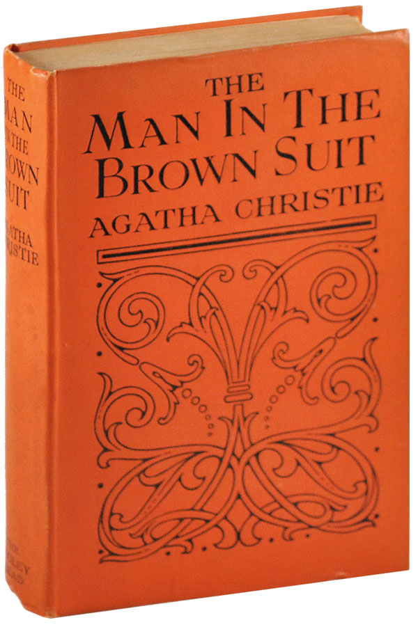 THE MAN IN THE BROWN SUIT. Agatha Christie.