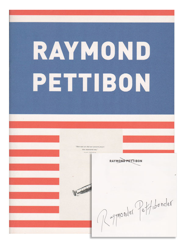 RAYMOND PETTIBON: NO TITLE - SIGNED. Raymond Pettibon, Roberto Ohrt, illustrations, text.