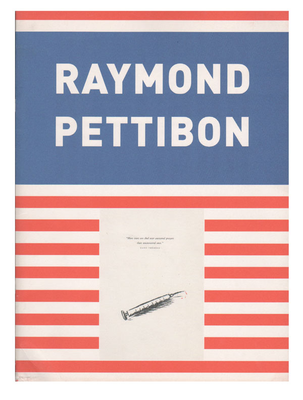 RAYMOND PETTIBON: NO TITLE. Raymond Pettibon, Roberto Ohrt, illustrations, text.