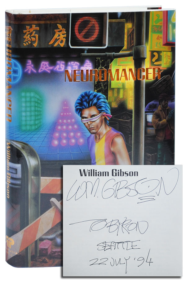 NEUROMANCER - INSCRIBED. William Gibson.