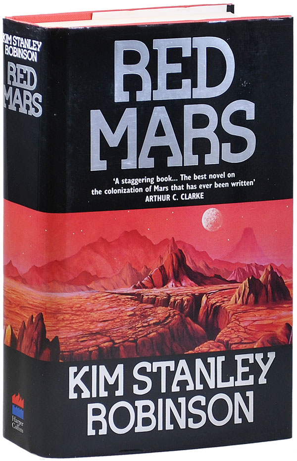 RED MARS - REVIEW COPY. Kim Stanley Robinson.