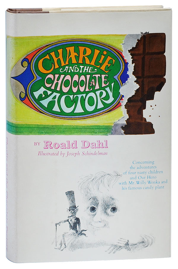 CHARLIE AND THE CHOCOLATE FACTORY. Roald Dahl, Joseph Schindelman, novel, illustrations.