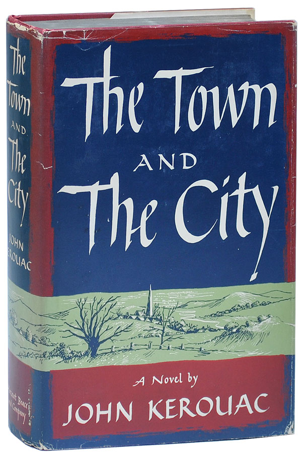 THE TOWN AND THE CITY - JACKSON MAC LOW'S COPIES (FIRST TRADE AND ADVANCE), TOGETHER WITH A TLS FROM THE PUBLISHER. Jack Kerouac.