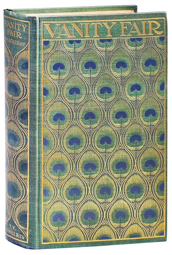VANITY FAIR: A NOVEL WITHOUT A HERO. William Makepeace Thackeray, Lee Thayer, novel, cover design.