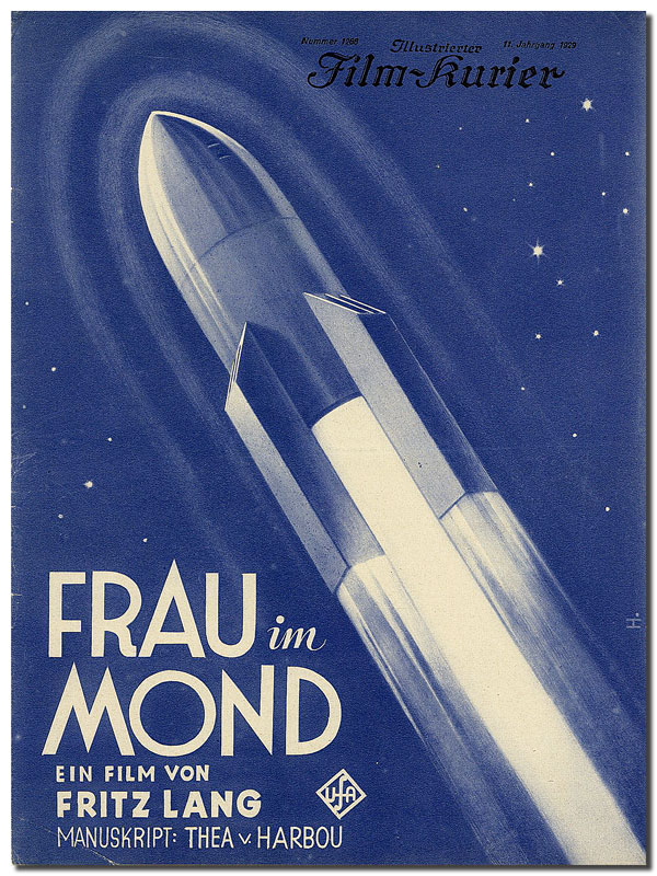 FRAU IM MOND (THE WOMAN IN THE MOON) - ORIGINAL FILM PROGRAM AND HERALD. Fritz Lang, Thea Von Harbou, director, novel.