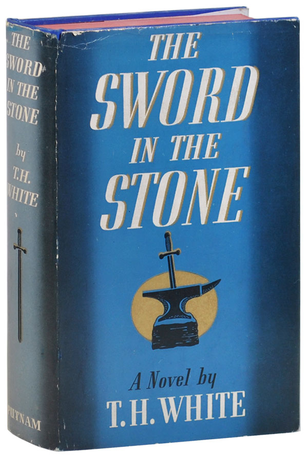 THE SWORD IN THE STONE. T. H. White, Robert Lawson, novel, illustrations.