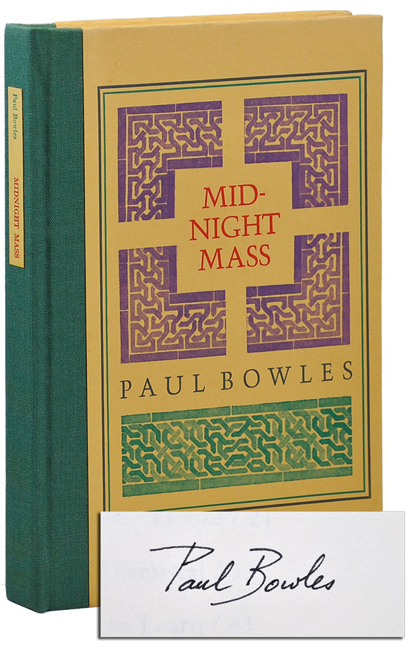 MIDNIGHT MASS - LIMITED EDITION, SIGNED. Paul Bowles.