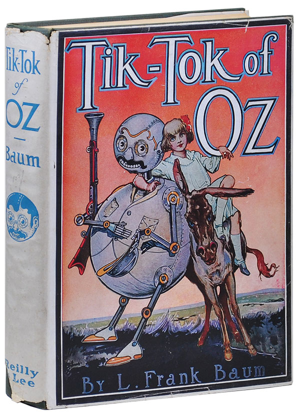 TIK-TOK OF OZ. L. Frank Baum, John R. Neill, novel, illustrations.