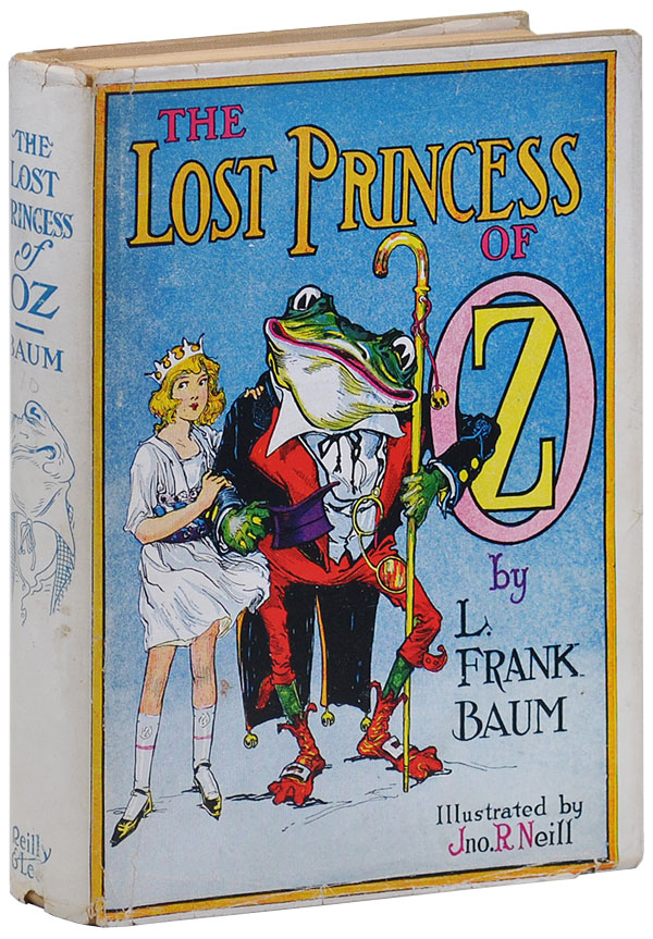 THE LOST PRINCESS OF OZ. L. Frank Baum, John R. Neill, novel, illustrations.