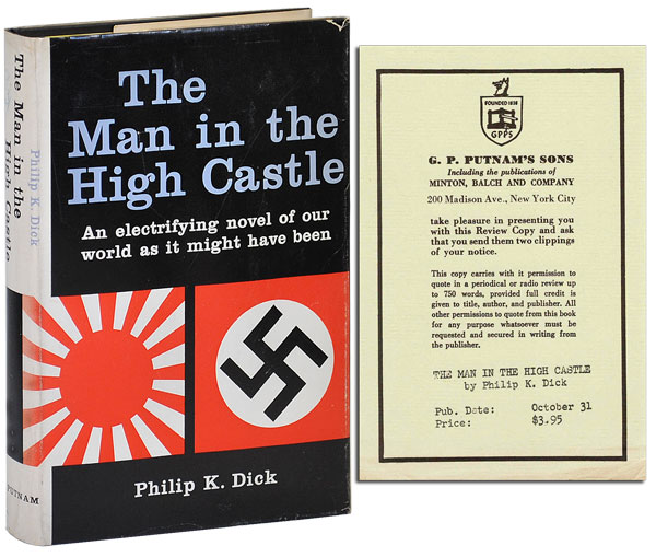 THE MAN IN THE HIGH CASTLE - REVIEW COPY. Philip K. Dick.
