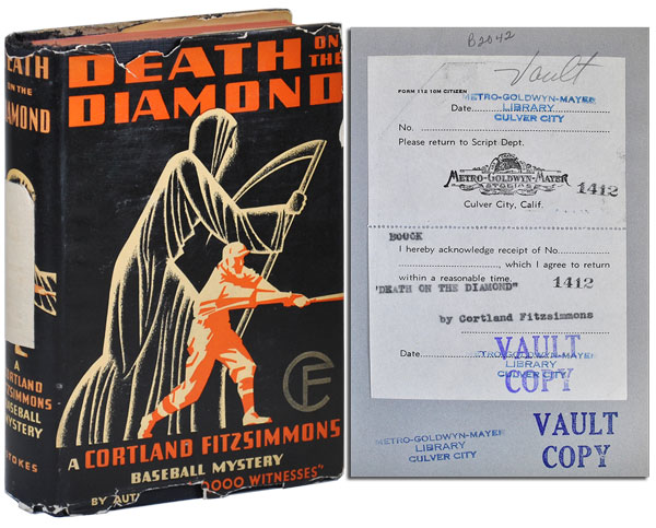 DEATH ON THE DIAMOND - THE MGM VAULT COPY. Cortland Fitzsimmons.