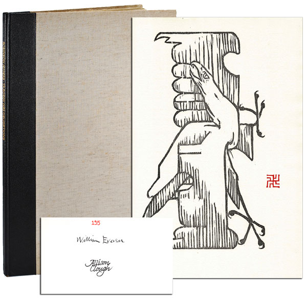TRAGEDY HAS OBLIGATIONS - LIMITED EDITION, SIGNED. Robinson Jeffers, William Everson, poem, afterword.