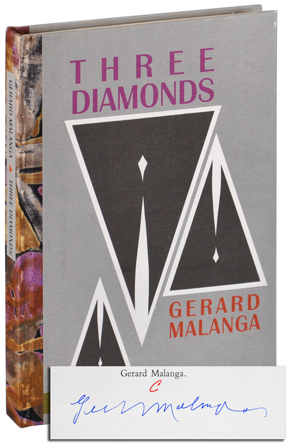 THREE DIAMONDS - DELUXE ISSUE, SIGNED. Gerard Malanga.