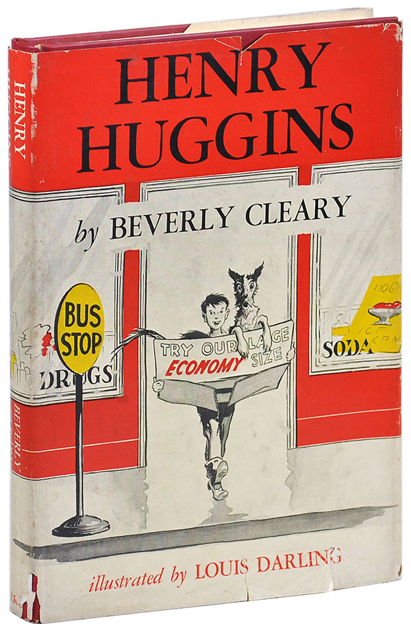 HENRY HUGGINS. Beverly Cleary, Louis Darling, novel, illustrations.
