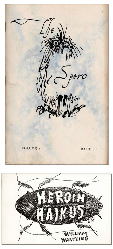 THE SPERO - VOL.1, NO.2 [WITH] HEROIN HAIKUS. Douglas Casement, William Wantling, contributor.