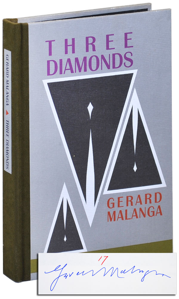 THREE DIAMONDS - LIMITED EDITION, SIGNED. Gerard Malanga.