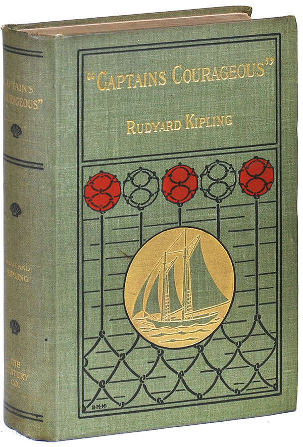 """CAPTAINS COURAGEOUS"" A STORY OF THE GRAND BANKS. Rudyard Kipling."