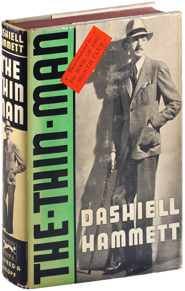THE THIN MAN. Dashiell Hammett.