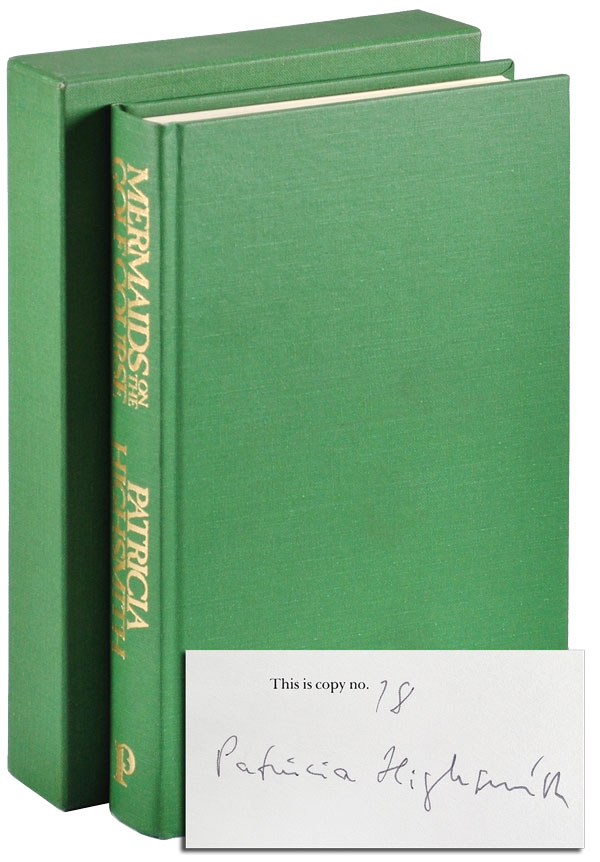 MERMAIDS ON THE GOLF COURSE - LIMITED EDITION, SIGNED. Patricia Highsmith.