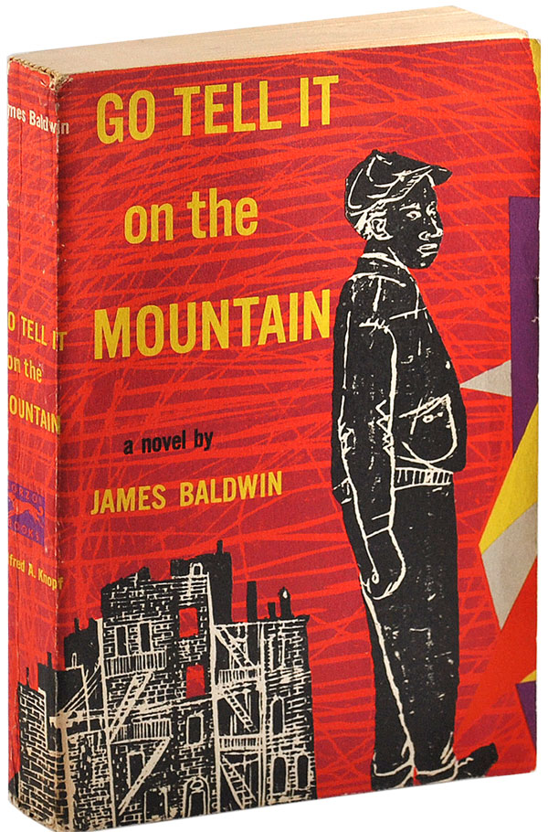 GO TELL IT ON THE MOUNTAIN - ADVANCE COPY. James Baldwin.