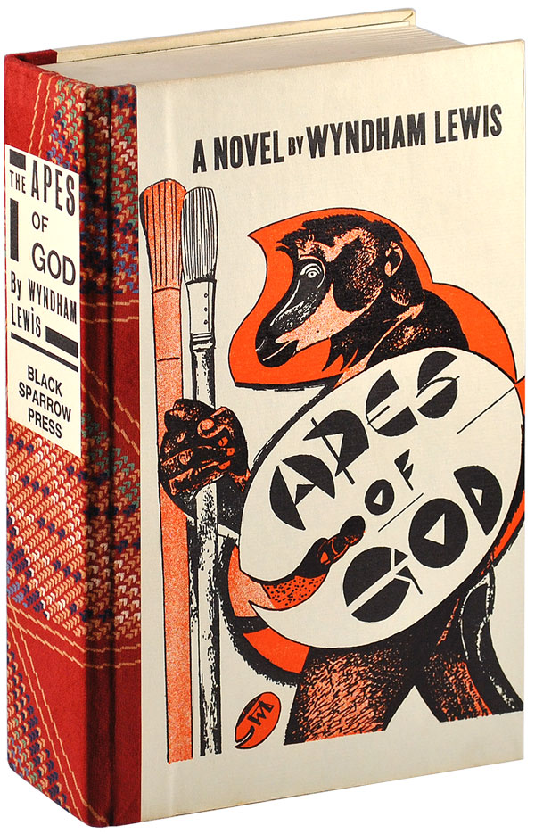 THE APES OF GOD - DELUXE ISSUE. Wyndham Lewis.