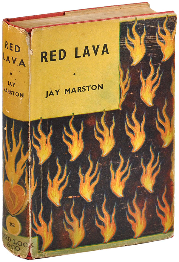 RED LAVA. Jay Marston, pseud. of Jill Spencer.