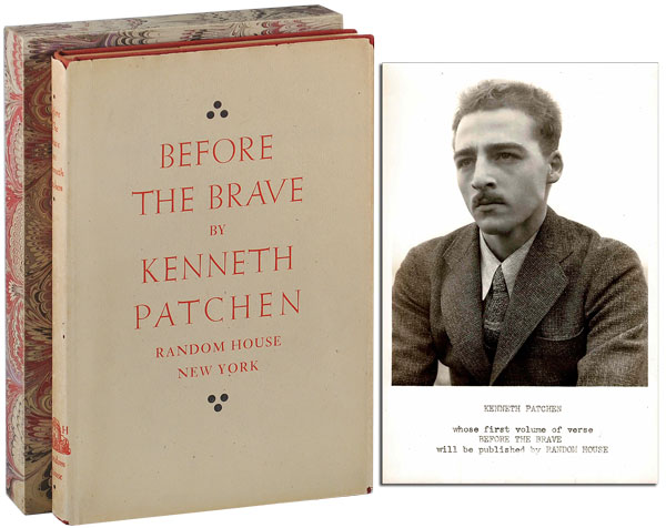 BEFORE THE BRAVE - REVIEW COPY. Kenneth Patchen.