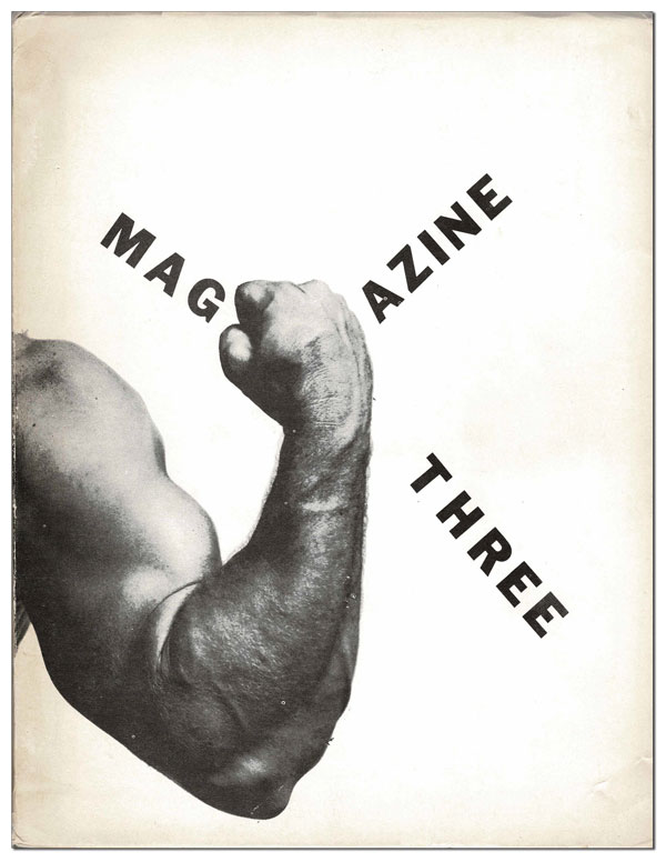 MAGAZINE THREE. Kirby Congdon, Charles Bukowski, Steve Richmond, Clarence Major, contributors.