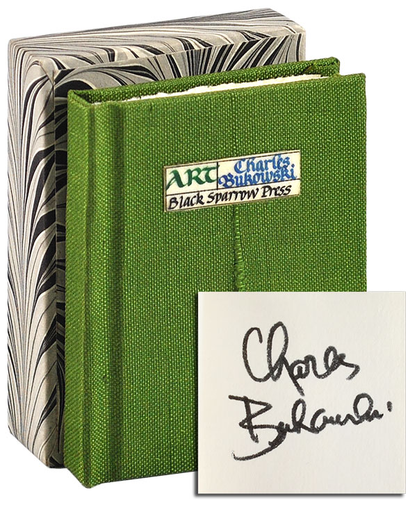 ART - DELUXE ISSUE, SIGNED. Charles Bukowski.