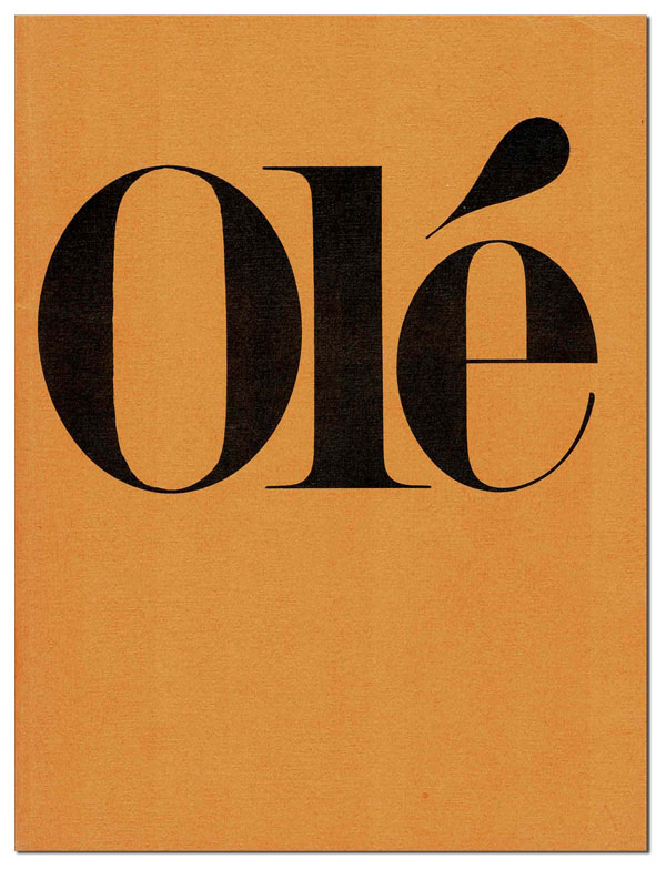 OLÉ ANTHOLOGY. Douglas Blazek, Charles Bukowski, d. a. levy, William Wantling, contributors.