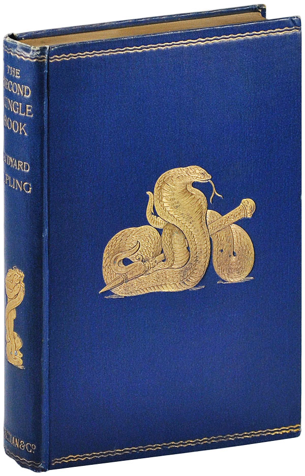 THE SECOND JUNGLE BOOK. Rudyard Kipling, J. Lockwood Kipling, stories, illustrations.