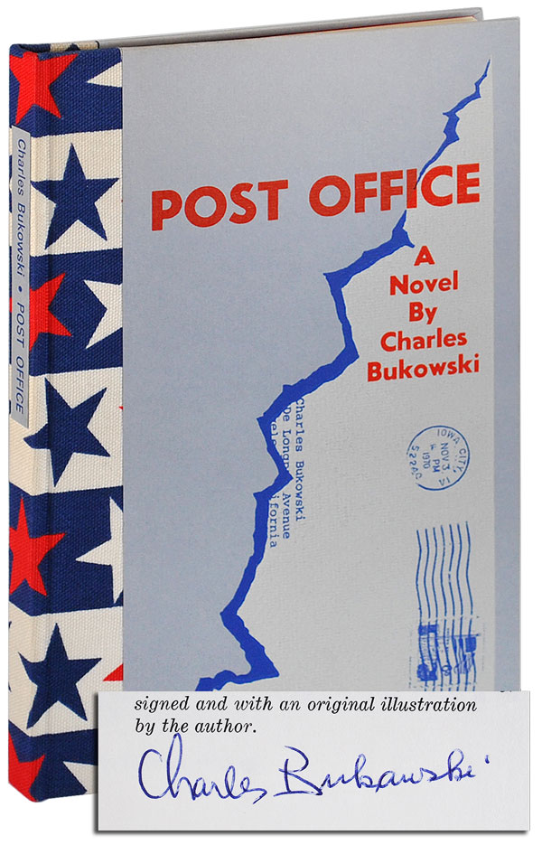 POST OFFICE - LIMITED EDITION, SIGNED. Charles Bukowski.