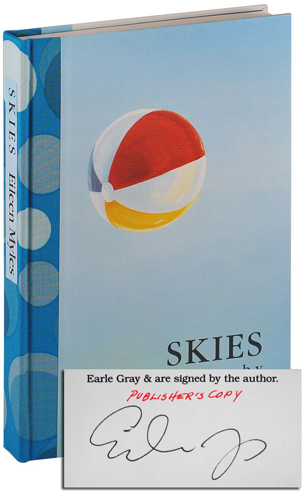 SKIES: POEMS - THE PUBLISHER'S COPY, SIGNED, WITH 3-PAGE ALS. Eileen Myles.