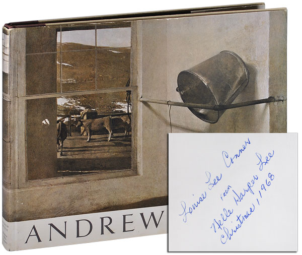 ANDREW WYETH - INSCRIBED BY HARPER LEE TO HER SISTER. Richard Meryman.