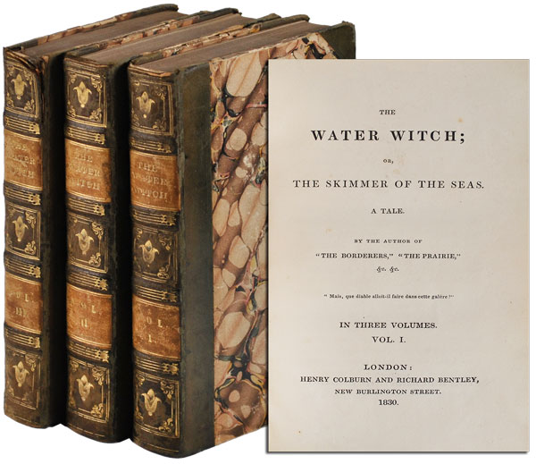 THE WATER WITCH; OR, THE SKIMMER OF THE SEAS. A TALE. James Fenimore Cooper.