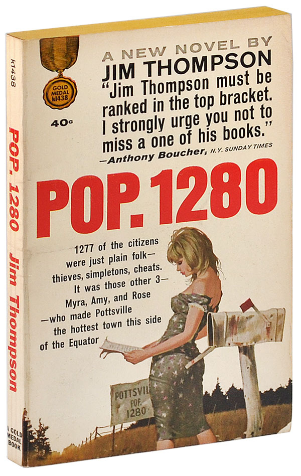 POP. 1280. Jim Thompson.