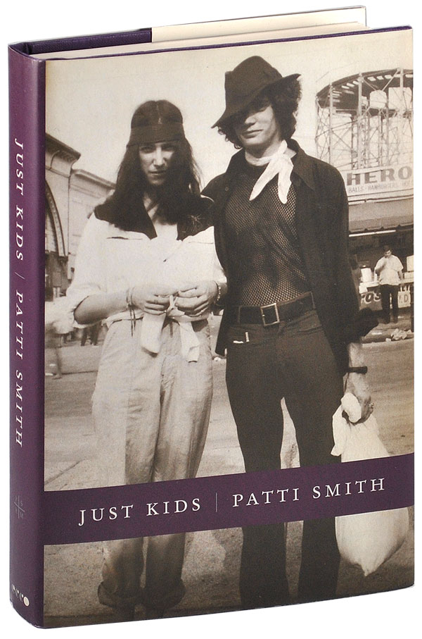 JUST KIDS - REVIEW COPY, INSCRIBED TO CRAIG ANDERSON. Patti Smith.