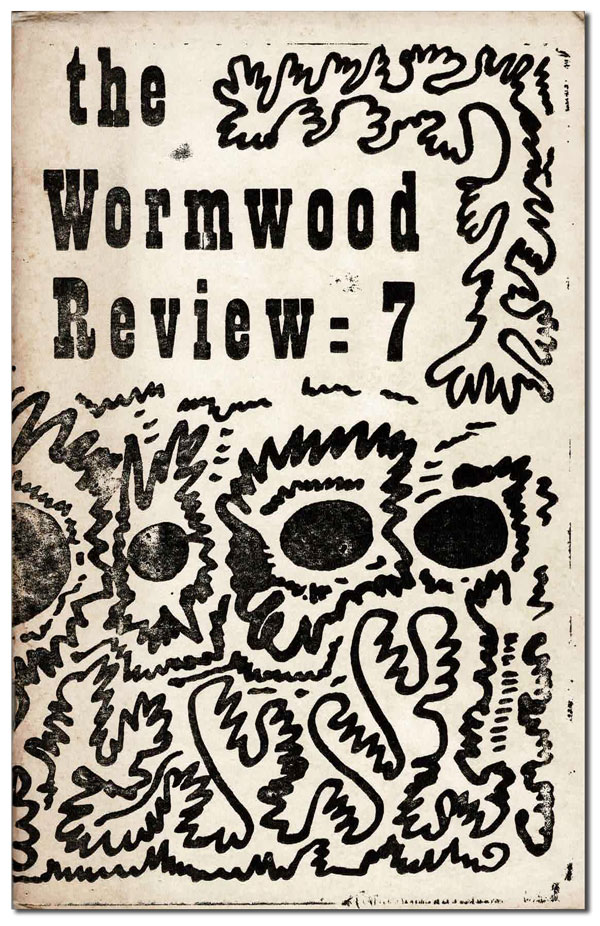 THE WORMWOOD REVIEW - NO.7 (VOL.2, NO.3). Charles Bukowski, Marvin Malone, Alexander Taylor, contributor.