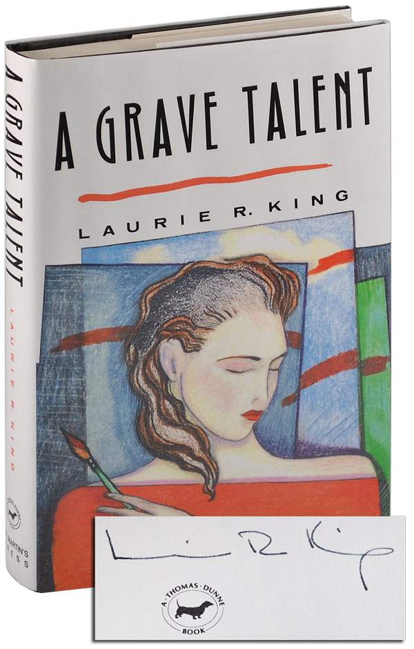 A GRAVE TALENT - SIGNED. Laurie R. King.