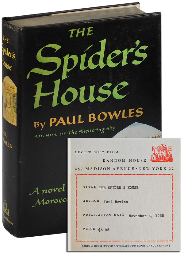 THE SPIDER'S HOUSE - REVIEW COPY. Paul Bowles.