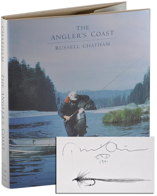THE ANGLER'S COAST - SIGNED. Russell Chatham.