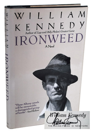 IRONWEED - REVIEW COPY, SIGNED. William Kennedy.