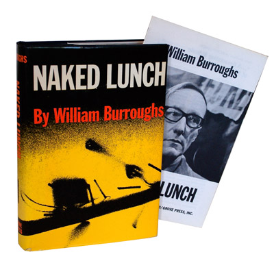NAKED LUNCH - TOGETHER WITH THE RARE PROSPECTUS. William S. Burroughs, Terry Southern, E. S. Seldon, novel, essays.
