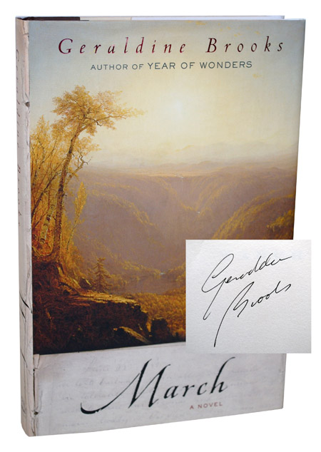 MARCH - SIGNED. Geraldine Brooks.