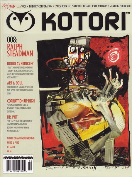 KOTORI MAGAZINE - ISSUE 8. Ralph Steadman.