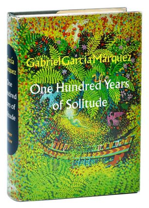 ONE HUNDRED YEARS OF SOLITUDE - REVIEW COPY, WITH TLS FROM PUBLISHER LAID IN