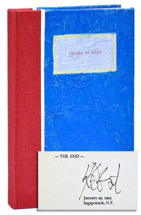 HISTOIRE DU SOLDAT - LIMITED EDITION, SIGNED. Kurt Vonnegut, Michael Fallon, text, illustrations