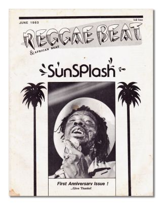 REGGAE BEAT - VOL.2, NO.5 (JUNE, 1983). REGGAE, C. C. Smith