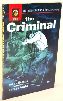 THE CRIMINAL. Jim Thompson