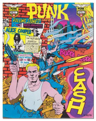 PUNK MAGAZINE - VOL.1, NO.17 (MAY/JUNE, 1979). John Holmstrom